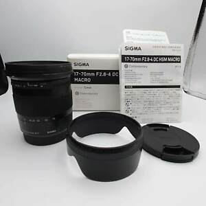 [Top MINT] Sigma 17-70mm F2.8-4 DC Macro OS HSM Contemporary For Canon EF JAPAN