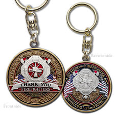 Fire Fighter Appreciation Key Chain · FireFighter Thank You Keytag