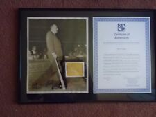 Ty  Cobb  Autograph  With Photo---authenticated.