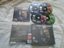 Wing Commander III 3 PS1 (COMPLETE) Sony PlayStation black label Mark Hamill