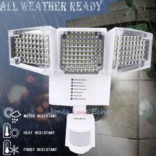 New listing 188 Led Solar Light 3-Head Motion Sensor Security Flood Spot Lamp Outdoor Garden