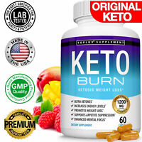 Keto Diet BURN Pills 1200 MG Ketosis Weight Loss Fat Burner Supplement Everyone