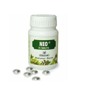 Charak Pharma Neo Tablet for Premature Ejaculation 75 Tablets Pack