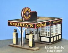 N Scale Smokey's Signal Gas Station Kit (1102)