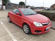 Vauxhall Tigra Twinport Cabriolet 1364cc, Red, 2006, 6 months M.O.T, Good Runner