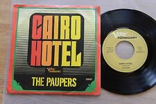 THE PAUPERS Cairo Hotel rare 7'' single VERVE 518007