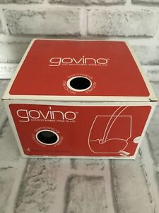 Set Of 4 Govino Go Anywhere Wine Glass Shaterproof Recyclable Reuable