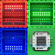 50W RGB Red Green Blue Full Color Colorful High Power LED Chip f Lamp Light Bulb
