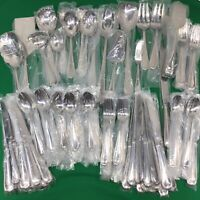 Reed Barton Domain Stainless Flatware Set 114 Pcs Service for 12 Serving NIB