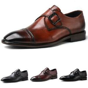 Size Plus Men Dress Formal Business Shoes Pointy Toe Oxfords Work Office Party L