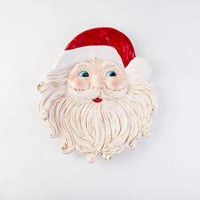 Santa Platter Ceramic Table Serving Plate Lg - Christmas Treats Dinner - YG0029