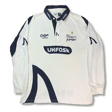 Men's Sale Sharks White Long Sleeve Home Shirt Large Good Cond