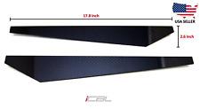 Universal Real Carbon Fiber Bumper Splitters Canards Diffuser CF