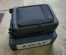 AWAY Suitcase Carry-On with Pocket (Brand New, Black) LIFETIME WARRANY