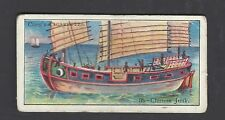 COPE - BOATS OF THE WORLD - #33 CHINESE JUNK