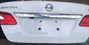 2013-2018 Nissan Sentra Complete Trunk Lid with Camera, lock, & 2 Tail lights