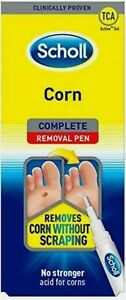SCHOLL Complete Corn Removal Treatment Pen 4ml -Removes Corn Without Scraping Nw