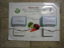 New 2x Bonus Pack KitchenAid Produce Preserver P1Kl6S1Csp~New & Sealed