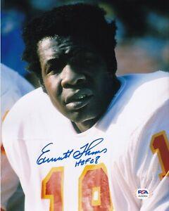 EMMITT THOMAS Signed Autographed Auto 8x10 Photo Picture Kansas City Chiefs PSA