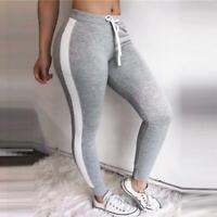 Womens Sport Compression Yoga Leggings Jogging Workout Fitness Stretch Pants LJ