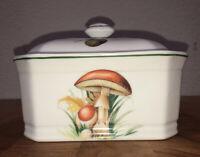 Louis Lourioux Le Faune Fireproof Porcelain Vintage Lidded Box