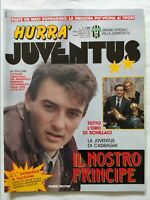 HURRA' JUVENTUS N. 2 FEBBRAIO 1991 +FASCICOLO ROBERTO BAGGIO CASIRAGHI SCHILLACI