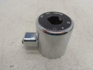 2004-2015 Harley Davidson Sportster IGNITION SWITCH COVER chrome