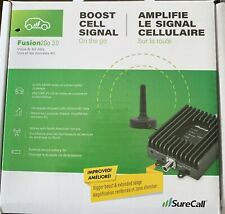 SureCall Fusion2Go 3.0 Voice & 4G LTE Cell Phone Signal Booster for Car, Truck