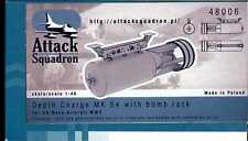 Attack Squadron Models 1/48 U.S. NAVY DEPTH CHARGE MK 54 with BOMB RACK