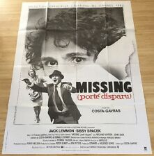 AFFICHE CINEMA 9227 - MISSING PORTE DISPARU - COSTA GAVRAS - 120/160