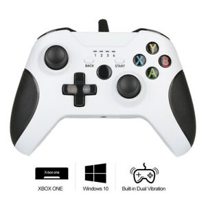 Wired Game Controller Joystick For Xbox ONE Windows PC Dual Vibration US Stock