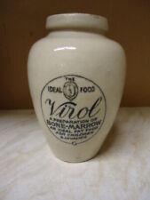 More details for vintage large virol stoneware jar