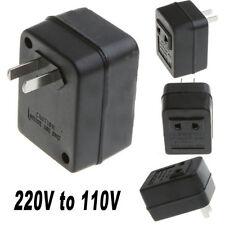 1PCS Cool 50W Power Converter Adapter AC 220V to 110V Transformer US Plug Travel