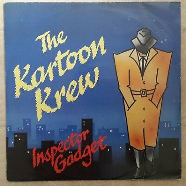 The Kartoon Krew  Inspector Gadget 1985 Original Vinyl 12