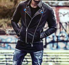 Men's Artificial PU Jacket