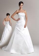 448ac189d0d Schulterfreie Brautkleider aus Satin in Größe 40 günstig kaufen