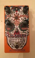 Alexander Pedals La Calavera Haunting Phase Dynamic Phaser Guitar Effect Pedal