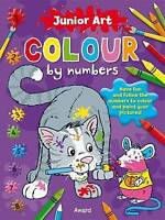 Cat: Colour By Numbers (Junior Art) by , NEW Book, FREE & Fast Delivery, (Paperb