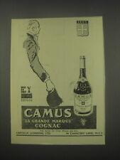 1949 Camus Cognac Ad - Camus la grande marque cognac