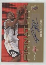 2009-10 Upper Deck Signature Collection Jermaine Taylor #191 Rookie Auto