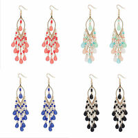 New Women's Fashion Tassel Elegant Jewelry Drop Dangle Ear Stud Earrings Bohemia