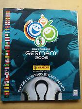 ALBUM FIFA WORLD CUP GERMANY 2006 COMPLETO MESSI, CR7, RONALDINHO, RONALDO PANIN