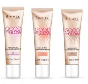 RIMMEL Good to Glow Highlighter - 25ml - 3 Shades Available