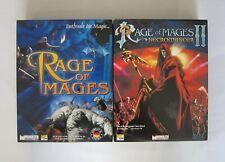 Rage of Mages 1+2 - PC Spiele Sammlung - Bigbox - selten