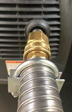 """GenExhaust Universal Generator 1-1/2"""" QD steel exhaust extension (5 ft)"""