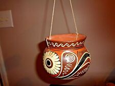 Acapulco Pottery Decorative Bird Feeder or Plant Holder