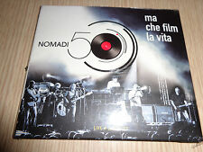 CD N° 1 NOMADI 50 MA CHE FILM E´ LA VITA LIVE A CESENATICO