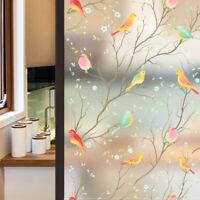 Fensterfolie Selbstklebend Milchglasfolie Blickdicht Sichtschutzfolie Statisch