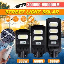 900W 90000LM LED Luz De Calle Solar Sensor De Movimiento Infrarrojo Pasivo Al Aire Libre Lámpara de pared + Control Remoto