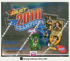 2010 Select AFL Champions Trading Cards Series Factory Box (36 packs)